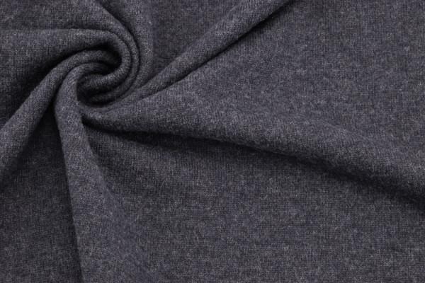 Merino - Woll - Strick Anthrazit