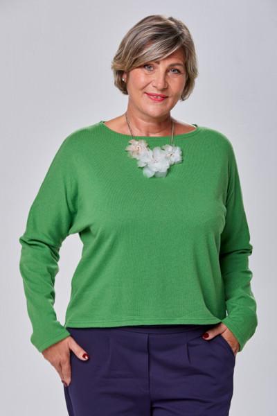 Pullover aus 100% Merino in grün