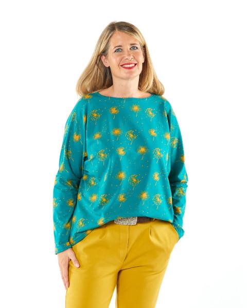 Jersey-Shirt Blume