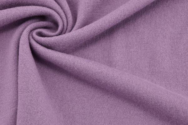 Merino - Woll - Strick Pastellviolett