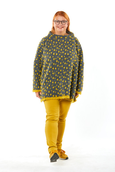 OsteDesign Poncho-Pullover Laak