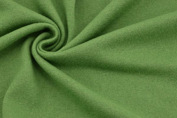 Merino - Woll - Strick Grasgrün