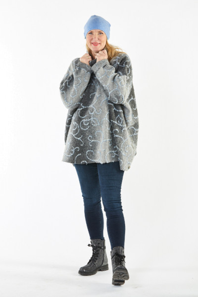 Poncho-Pullover Laak