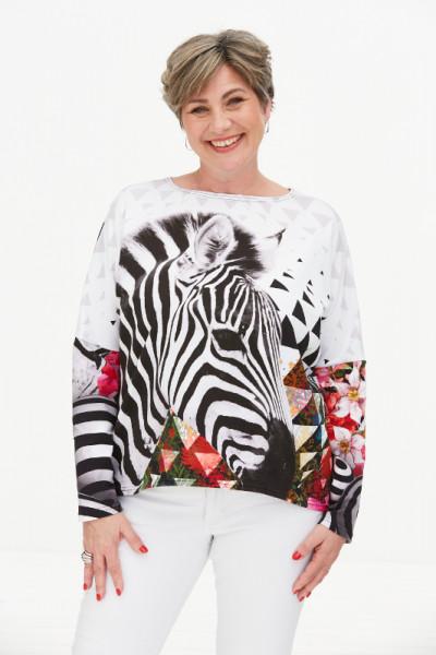 Jersey-Shirt Zebra