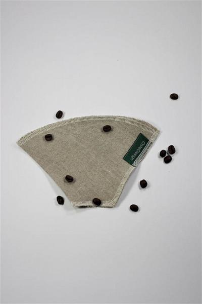 Dauer-Kaffeefilter aus Leinen