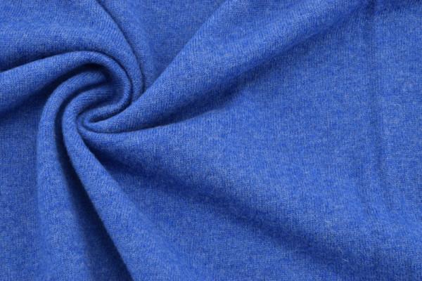 Merino - Woll - Strick Mittelblau
