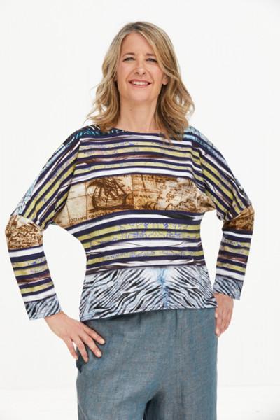 Baumwoll-Shirt Earth