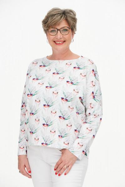 Jersey-Shirt Vogelstrauß
