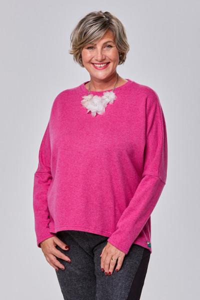 Pullover aus 100% Merino in PINK